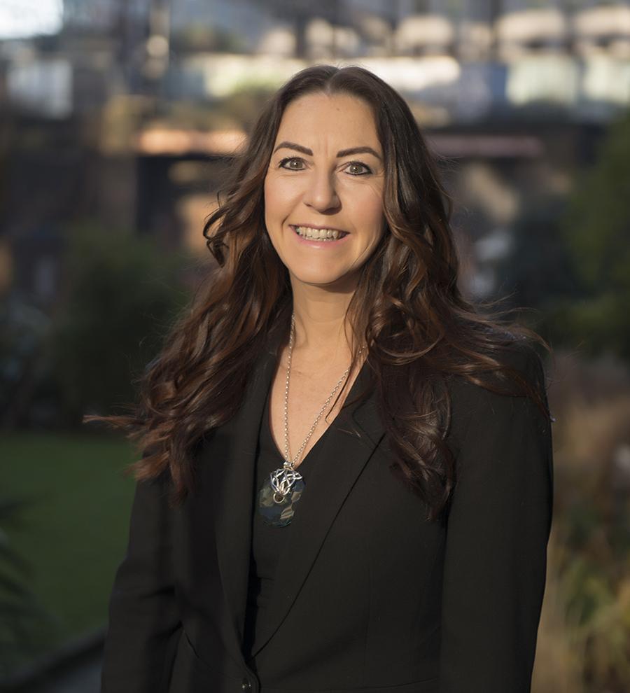 short profile of joanne cholerton, 3SC chief executive
