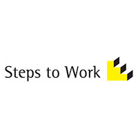 steps to work logo