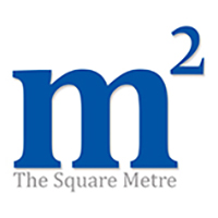 the square metre logo