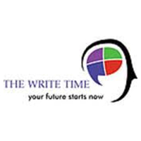 the write time logo